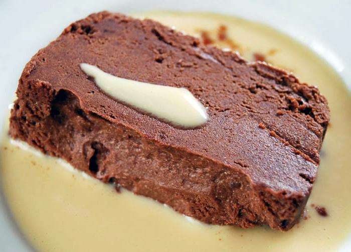 marquise au chocolat chocolable
