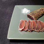 Filet mignon de porc séché aux herbes