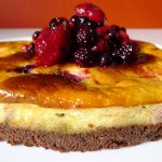 Brownie-cheesecake aux fruits rouges