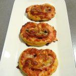 Pizza roulée façon palmiers