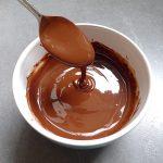 Chocolat fondu au micro-ondes
