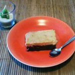 Pastel imposible (chocoflan)