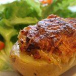 Pommes de terre gratinées aux lardons