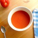 Velouté à la tomate