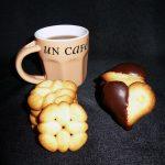 Sablés à la fleur d'oranger (presse à biscuits)