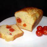 Cake au chèvre et aux tomates cerises