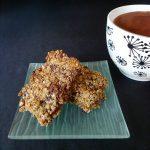 Flapjack aux abricots et pépites de chocolat