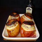Pommes farcies (poulet, porc et châtaignes)