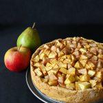Tarte aux pommes, aux poires et aux spéculoos