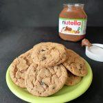 American cookies au Nutella et aux raisins secs