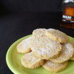 Biscuits fondants au Rhum et aux épices