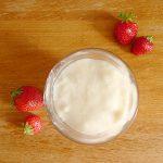 Crème pâtissière sans oeuf