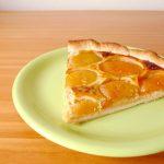 Tarte aux abricots et au flan