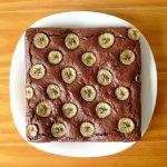 Brownie au Nutella et à la banane