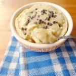Glace à la banane et aux pépites de chocolat (nice cream)
