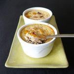 Flans au thon, au poivron et aux tomates séchées