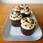 Cupcakes au chocolat et au beurre de cacahuète