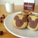 Sablés Mickey au cacao et à la noisette