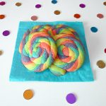 Rainbow swirl cookies (sablés spirales arc-en-ciel)