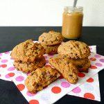 Cookies moelleux beurre de cacahuète, banane et pépites de chocolat