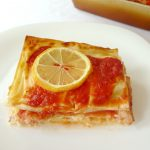 Lasagnes au cabillaud et au saumon