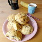Cookies briochés à la banane et aux pépites de chocolat