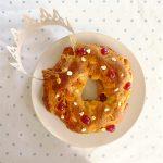 Gâteau des rois (brioche aux fruits confits)