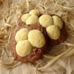Biscuits nids (au chocolat et à la vanille)