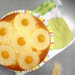 Gâteau renversé pêche et ananas