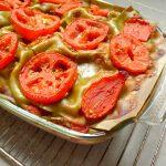Lasagnes rapides (boeuf, tomate et courgette)