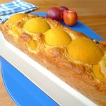 Cake aux pêches au sirop (sans sucre ajouté)