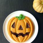 Gâteau d'Halloween (moelleux potiron, chocolat et amande)