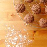 Biscuits sablés au cacao (coeur moelleux)