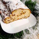 Christollen (Stollen) – Brioche de Noël aux fruits secs et au massepain