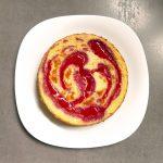 Cheesecake au coulis de fraise