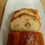 Cake au yaourt, à l'orange et à la banane