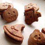 Sablés au cacao (Halloween)